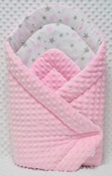 Rożek niemowlęcy bawełna/ minky