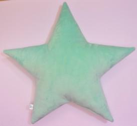 Poduszka dekoracyjna gwiazdka minky